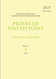 Przegląd Statystyczny/Statistical Review