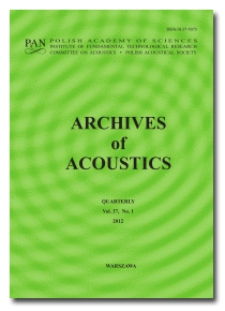 Archives of Acoustics