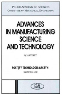 Advances in Manufacturing Science and Technology