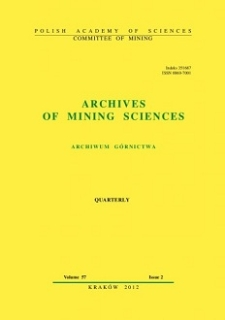 Archives of Mining Sciences