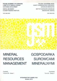 Gospodarka Surowcami Mineralnymi - Mineral Resources Management