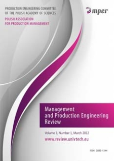 Management and Production Engineering Review